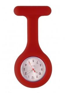 Reloj Enfermera Silicona estándar Granate