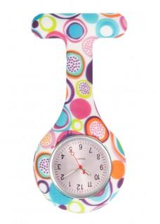 Reloj enfermera Silicona Círculos