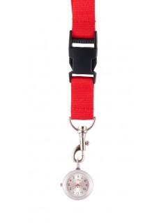Reloj colgante para Enfermeras  Rojo
