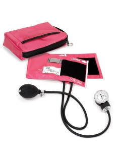 Esfigmomanómetro Premium aneroide con Funda rosa pasión