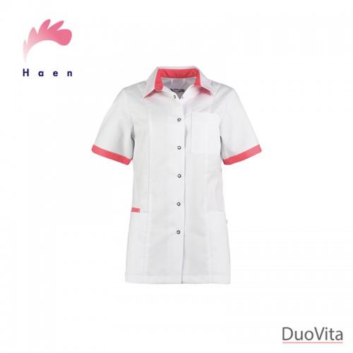 Haen Casaca Sanitaria Fijke White/Oriënt Pink