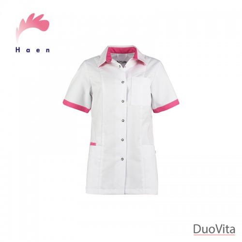 Haen Casaca Sanitaria Fijke White/Shocking Pink