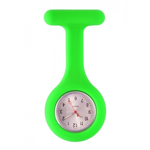 Reloj Enfermera Silicona estándar Verde Lima