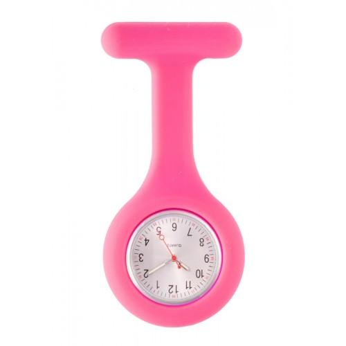 Reloj Enfermera Silicona estándar Fucsia