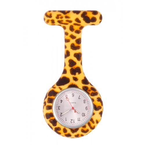 Reloj enfermera Silicona Leopardo