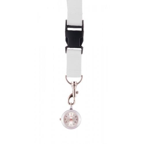 Reloj colgante para enfermeras Blanco