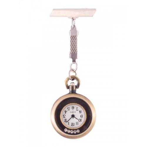 Reloj Cinco Diamantes Bronce
