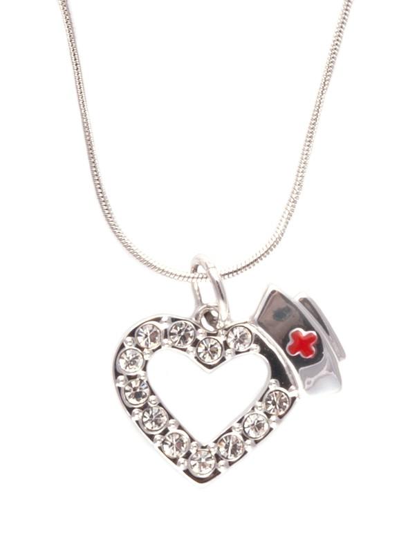 cómo hacer pedidos diseño exquisito Precio pagable Collar colgante Corazón