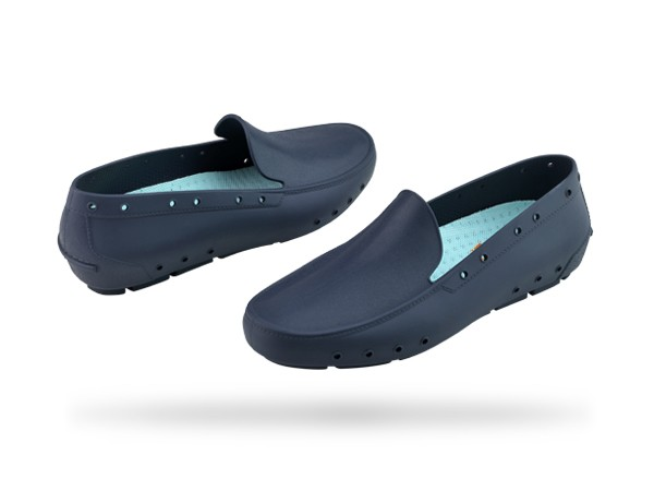 Zapatos azul marino Wock para mujer HT3Iy