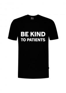 Camiseta Be Kind To Patients Negra