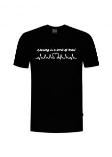 Camiseta Work of Heart Negra