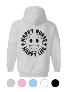 Sudadera Gildan Happy Nurse Life