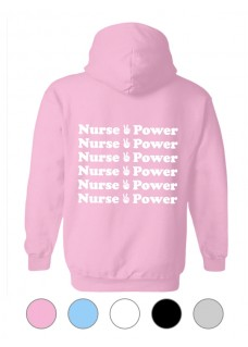Sudadera Gildan Nurse is Power