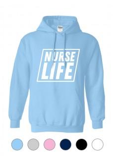 Sudadera Gildan Nurse Life Square