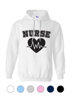Sudadera Gildan Nurse ECG