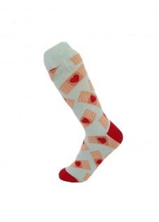 Calcetines Happy Tiritas para Mujer