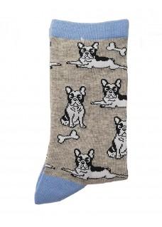 Calcetines Happy Bulldog para Mujer