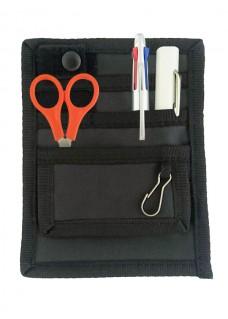 Organizador de bolsillo Negro/Negro + accesorios GRATIS