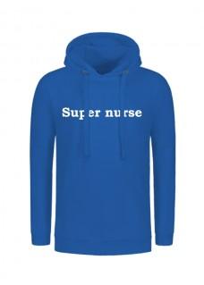 Sudadera Super Nurse Azul