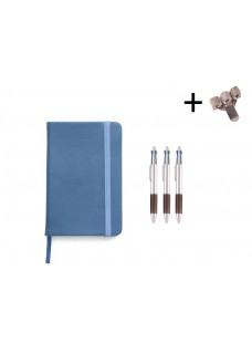 Set Cuaderno A5 + Bolis Azul