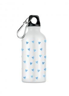 Botella Bidón Corazones Azules