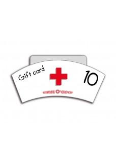 Tarjeta Regalo 10€ Nurse O'Clock