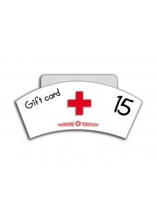 Tarjeta Regalo 15€ Nurse O'Clock