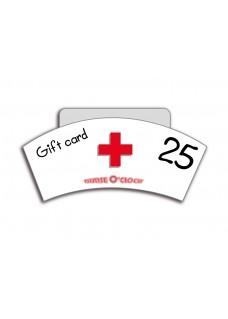 Tarjeta Regalo 25€ Nurse O'Clock