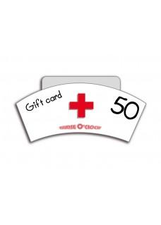 Tarjeta Regalo 50€ Nurse O'Clock
