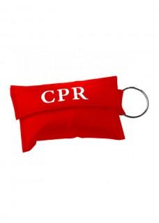 Llavero con Máscara CPR Rojo