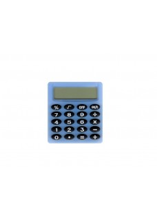 Mini Calculadora Azul