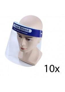 Protector Facial Caja de 10 Unidades