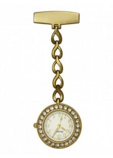 Reloj para enfermeras Henley HF082 Oro