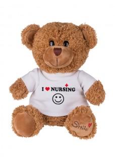 Oso de Peluche Love Nursing con Grabado Incluido