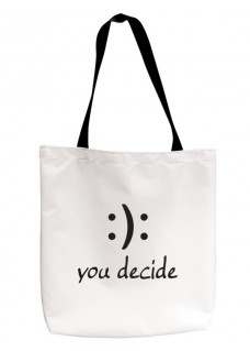 Bolsa Tote You Decide