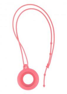Collar silicona rosa