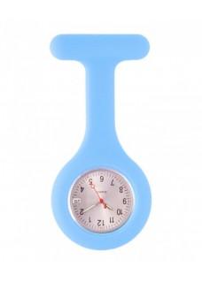 Reloj Enfermera Silicona estándar Azul