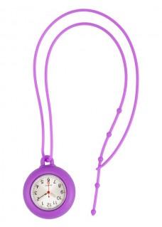 Reloj silicona cordón Violeta