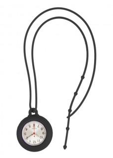 Reloj silicona cordón Negro