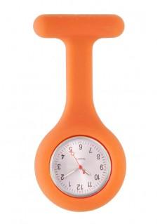 Reloj Enfermera Silicona estándar Naranja