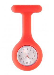 Reloj Enfermera Silicona estándar Rojo