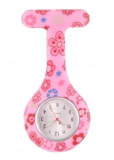 Reloj enfermera Silicona Flower Draws