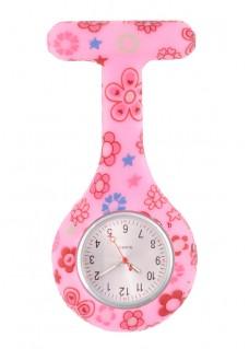 Reloj enfermera Silicona Flower Draws