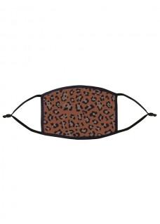 Mascarilla de Tela Tapabocas Leopardo