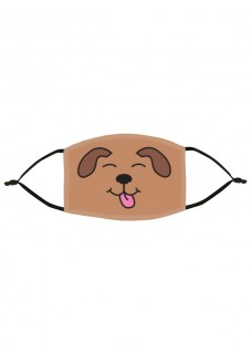 Mascarilla de Tela Tapabocas Perro