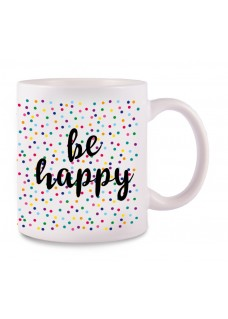 Taza Be Happy
