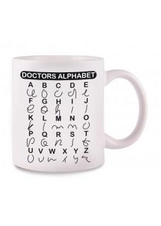 Taza Doctors Alphabet