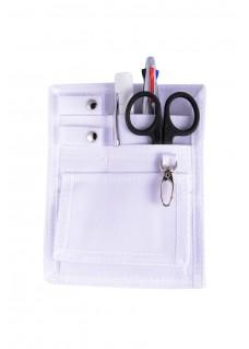 Organizador de bolsillo para enfermera Blanco+ accesorios gratis