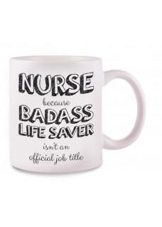 Taza Nurse Badass