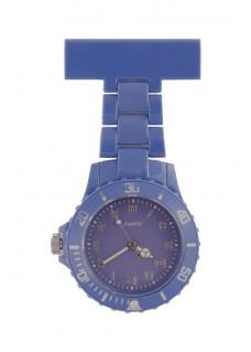 Reloj Neon Azul Oscuro